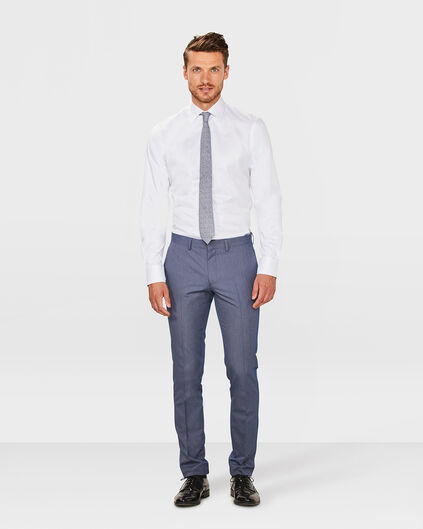 HEREN SLIM FIT PANTALON RUBEN Blauw
