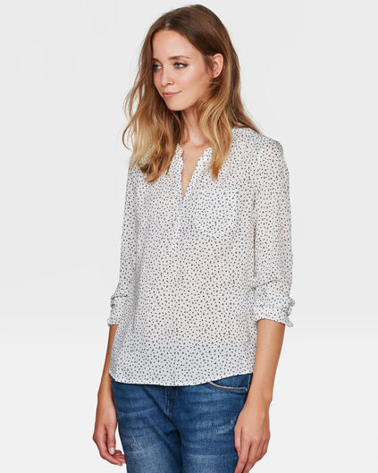 DAMES TRIANGLE PRINT BLOUSE All-over print
