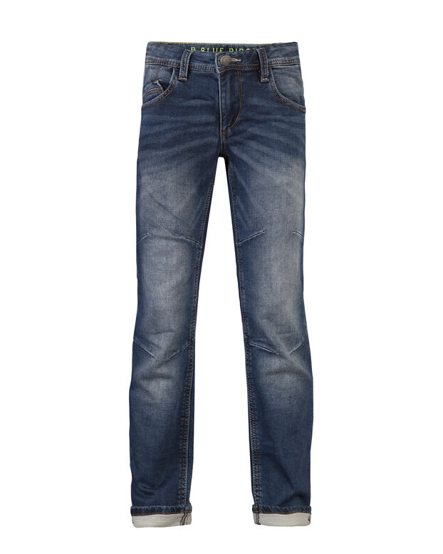 JONGENS REGULAR FIT JOG DENIM Blauw