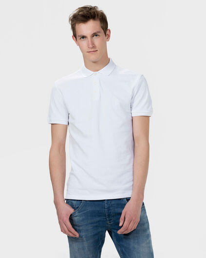 HEREN ORGANIC COTTON POLOSHIRT Wit