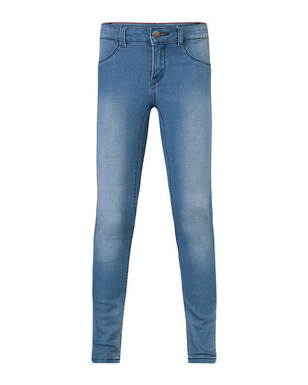 MEISJES SUPER SKINNY POWER STRETCH JEGGING Lichtblauw