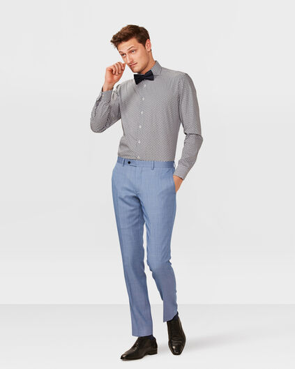 HEREN SLIM FIT PANTALON WASHINGTON Blauw