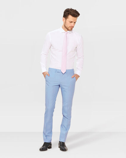 HEREN ULTRA SLIM FIT PANTALON LYON Lichtblauw