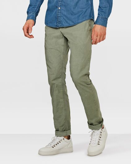 HEREN SLIM FIT CASUAL CHINO Legergroen