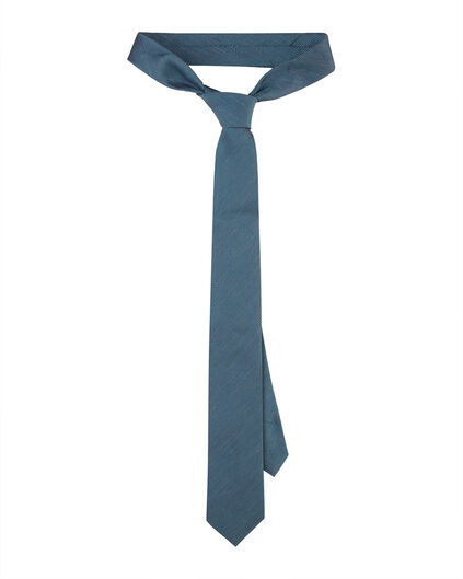 HEREN GRAPHIC PRINT TIE Blauw
