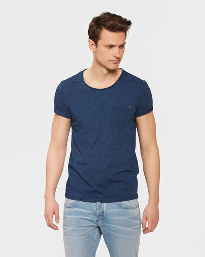 HEREN ONE POCKET T-SHIRT Indigo