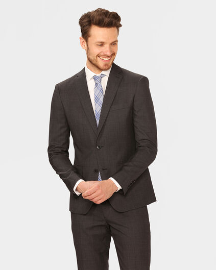 HEREN ULTRA SLIM FIT BLAZER TOM Donkergrijs