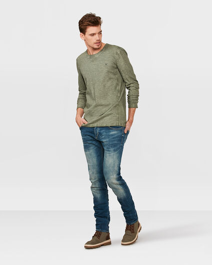 HEREN OIL DYE SHIRT Groen