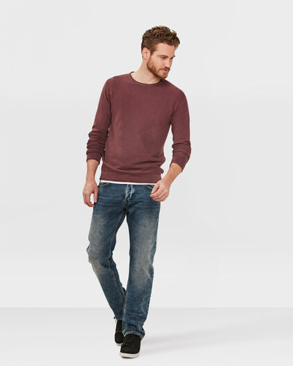 HEREN REGULAR STRAIGHT JOG DENIM Blauw