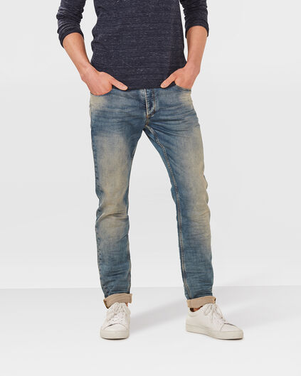 HEREN SKINNY TAPERED SUPER STRETCH JOG DENIM Indigo