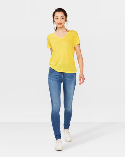 DAMES HIGH RISE SKINNY FIT RECOVERY JEANS Blauw