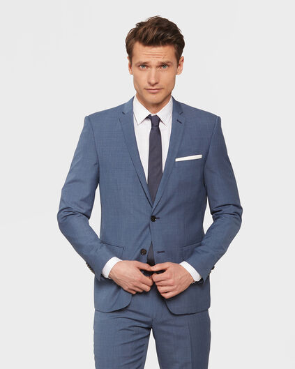 HEREN SLIM FIT BLAZER GRIFFIN Blauw
