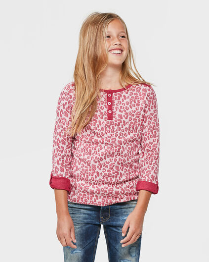 MEISJES BUTTON-DOWN SHIRT Roze