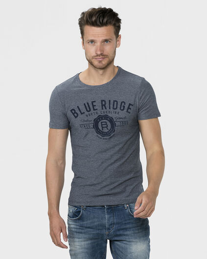 HEREN NAVY BLUE T-SHIRT Marineblauw