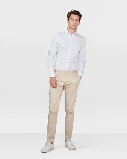 HEREN SLIM FIT PANTALON MASON Beige