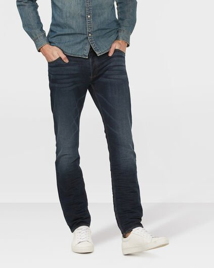 HEREN SKINNY TAPERED SUPER STRETCH JOG DENIM Donkerblauw