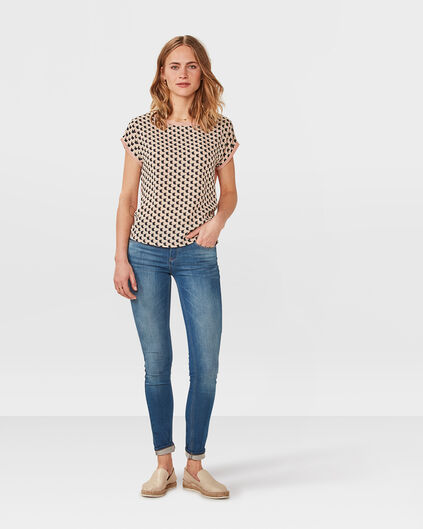 DAMES SKINNY FIT JOG DENIM Blauw