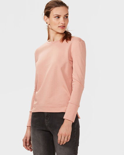 DAMES SOLID SWEATER Oudroze