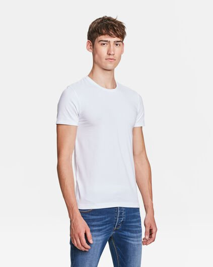 HEREN R-NECK T-SHIRT Wit