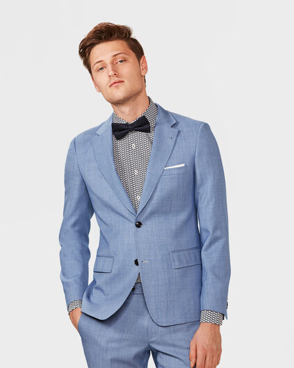 HEREN ULTRA SLIM FIT BLAZER WASHINGTON Blauw