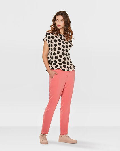 DAMES REGULAR FIT PANTALON Koraalroze