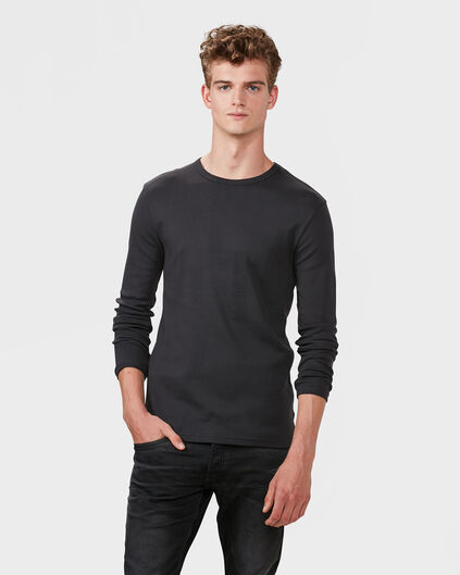 HEREN R-NECK SHIRT Aluminium