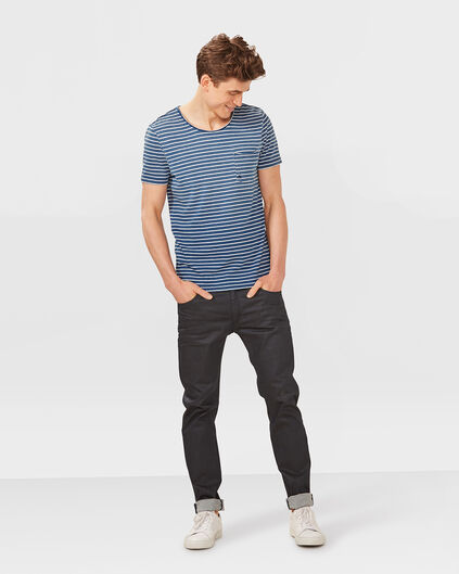 HEREN SKINNY TAPERED SUPER STRETCH JEANS Donkerblauw