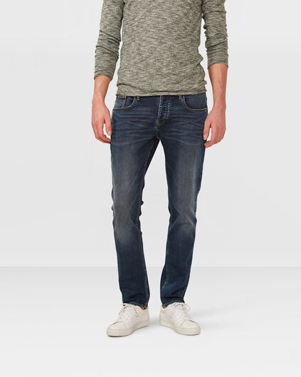 HEREN SLIM TAPERED JOG DENIM Donkerblauw