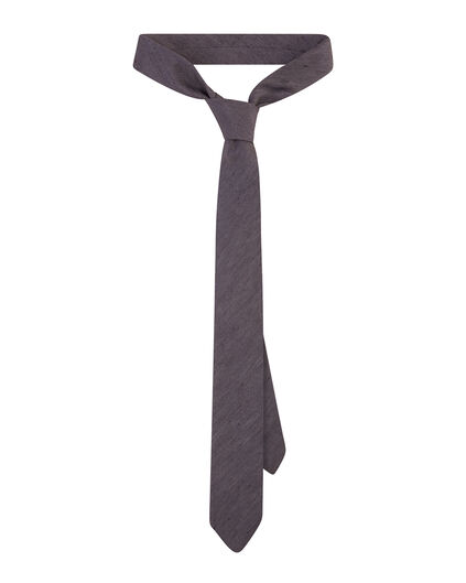 HEREN DIAGONAL STRIPE TIE Blauw