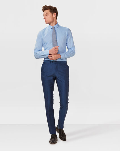 HEREN SLIM FIT PANTALON WALKER Blauw