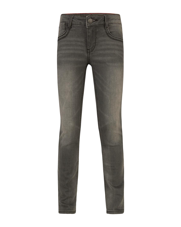 Meisjes skinny grey denim jeans