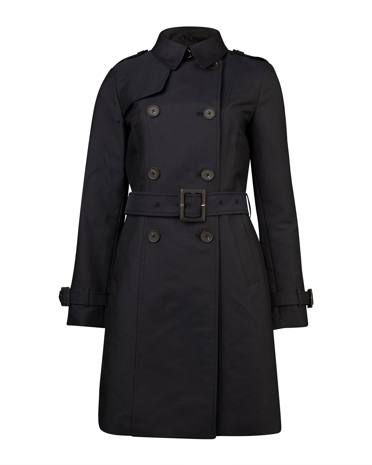 Dames modern classic trenchcoat