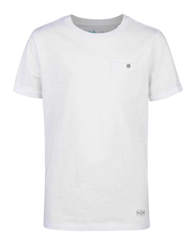 Jongens one pocket r-neck t-shirt
