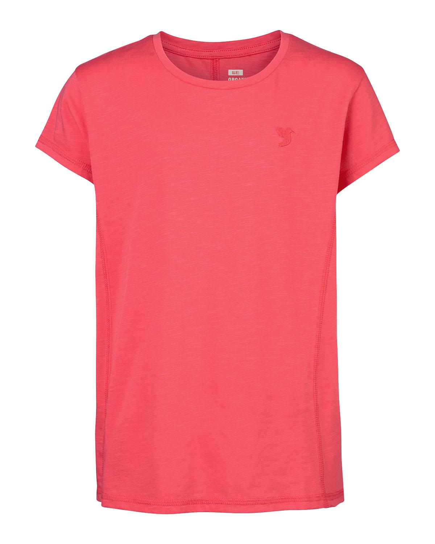 Meisjes solid organic t-shirt