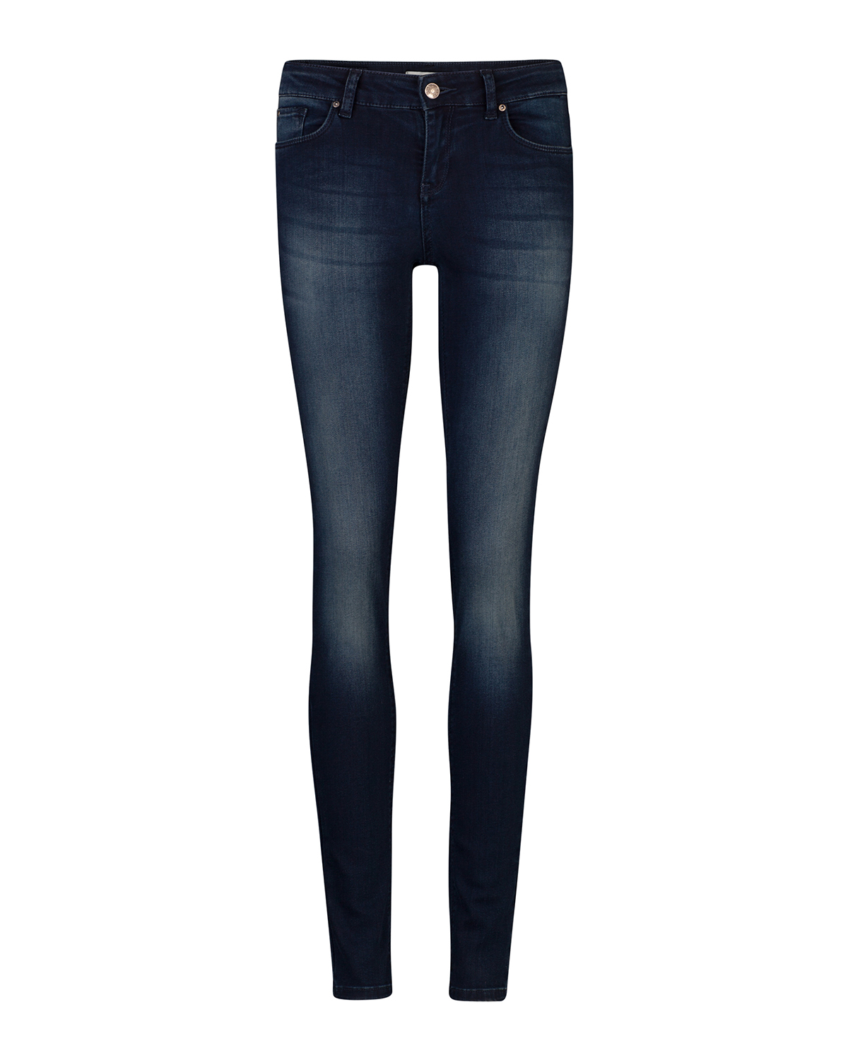 Dames mid rise skinny recovery jeans