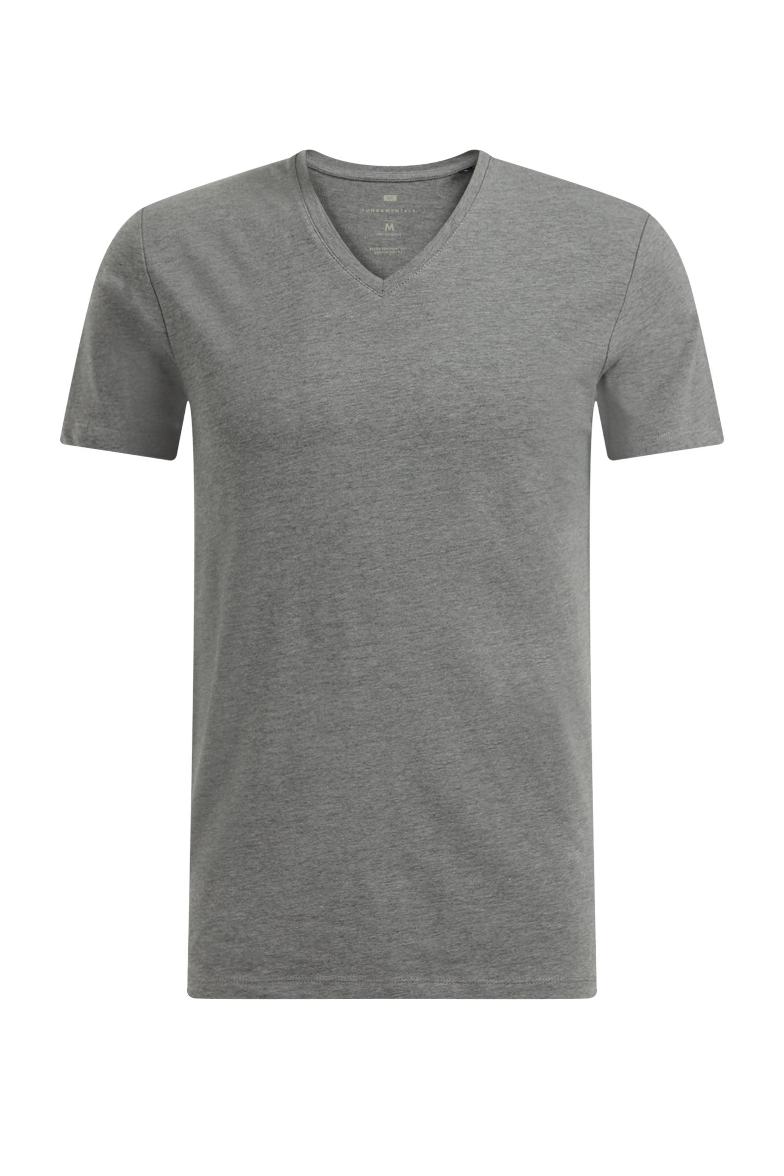 Heren v-neck t-shirt