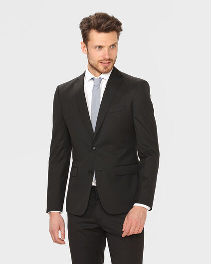 HEREN SLIM FIT BLAZER TOM Zwart
