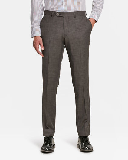 HEREN SLIM FIT PANTALON ARKLOW Donkerbruin