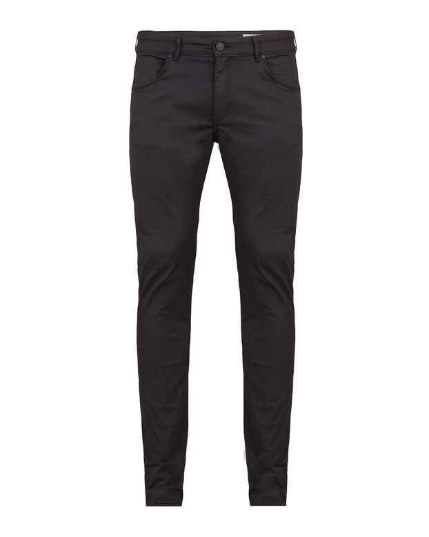 HEREN SKINNY TAPERED SUPER STRETCH BROEK Donkerblauw