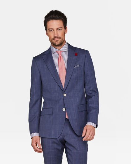HEREN SLIM FIT BLAZER WESTVIEW Blauw