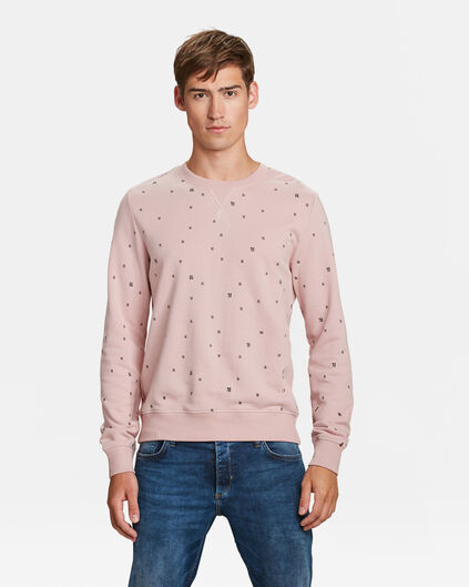HEREN BLUE RIDGE LOGOPRINT SWEATER Zalmroze