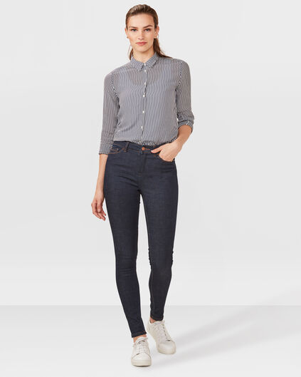 DAMES HIGH RISE SKINNY RECOVERY JEANS Donkerblauw