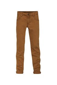 Jongens regular fit denim jeans_Jongens regular fit denim jeans, Roestbruin