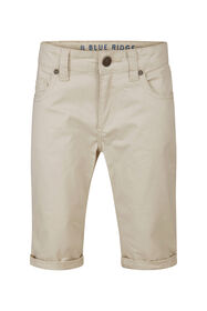 Jongens Slim Fit shorts_Jongens Slim Fit shorts, Beige