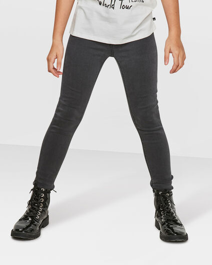 MEISJES SUPER SKINNY POWER STRETCH JEGGING Grijs