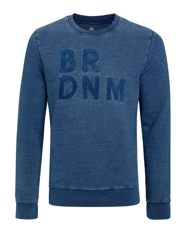 HEREN BLUE RIDGE INDIGO SWEATER Indigo