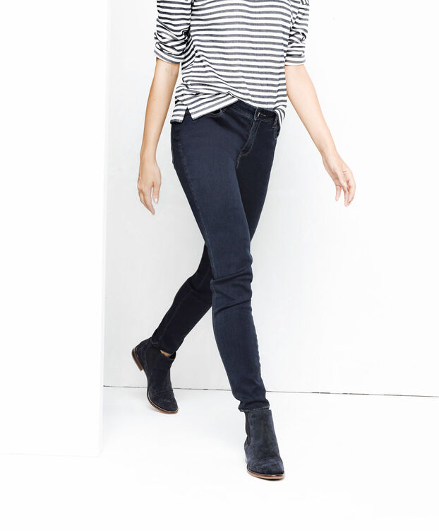 DAMES SUPER SKINNY FIT JEANS Donkerblauw