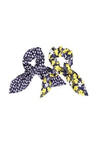 Meisjes scrunchie 2-pack_Meisjes scrunchie 2-pack, All-over print