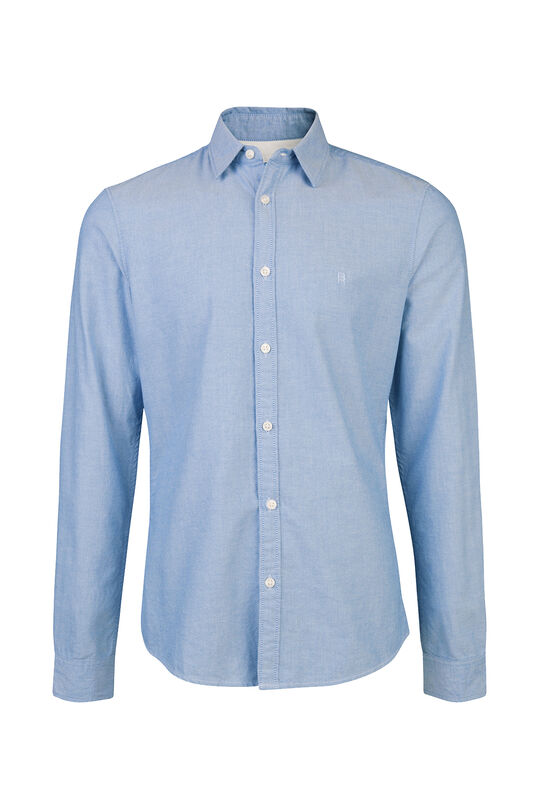 HEREN SLIM FIT OXFORD OVERHEMD Lichtblauw