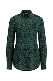 Dames blouse met dessin_Dames blouse met dessin, All-over print